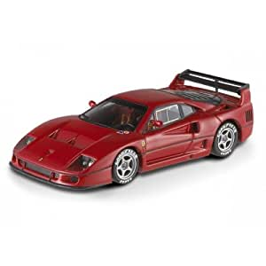 Elite - WX5507 - Véhicule Miniature - Ferrari F40 Competizione Présentation - Echelle 1:43 - Rouge