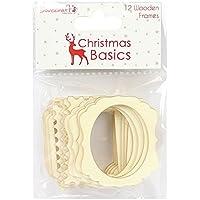 Dovecraft Natale Basics cornici, legno, multicolore