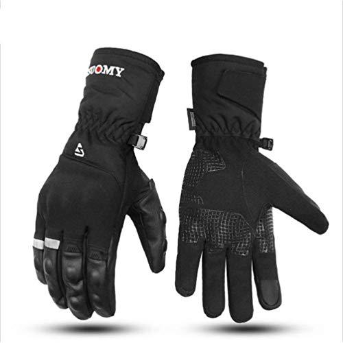 Guanti Moto Moto Impermeabile Uomini Donne Touch Screen Addensato Caldo Resistente agli Urti Moto Guanto Cavaliere Motocross Attrezzature/Guant