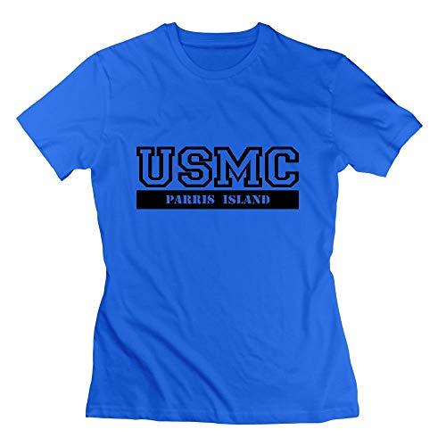 Usmc Parris Island (USMC Parris Island Womens Tshirts)