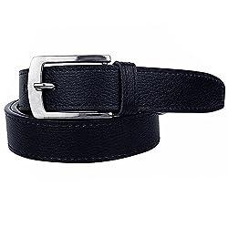 Shara Men's PU Leather Belt (Black)(SHA/MENSBELT/BK)