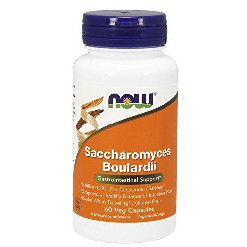 NOW Saccharomyces Boulardi 60 vcapsules