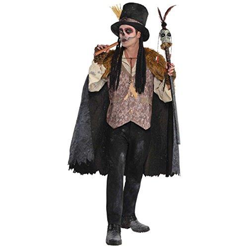 Der Witch Doktor, der Hexen Doktor Kostüm M / L Voodoo
