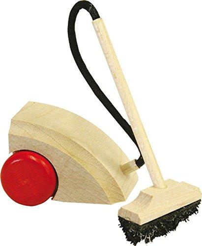 Rülke Holzspielzeug 21663 Puppenhauszubehör, holzfarben, schwarz, rot