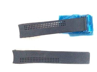 20/18mm reloj de silicona correas de goma de color negro con logotipo de Tag Heuer al lado de ajuste Tag Heuer