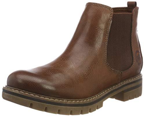 MARCO TOZZI Damen 26425-21 Chelsea Boots, Braun (Cognac Antic 310), 37 EU