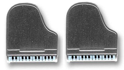 Music Cufflinks CUV2518 - Gemelli da uomo, argento