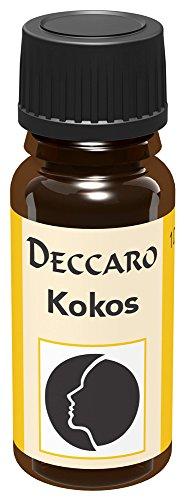 """DECCARO Aceite aromático \""""coco\"""", 10 ml (aceite de perfume)"""