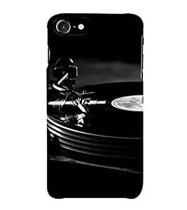 HiFi Designer Phone Back Case Cover Apple iPhone 6S :: Apple iPhone6S ( Dj Disk Black Funky Music Sounds Track )