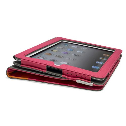 "Portfolio ""Poptop G1326"" für Apple iPad 2/3rd/4th Generation, Dunkelgrau Pink"