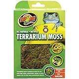 ZooMed Mousse naturelle pour Terrarium Taille M (2.46 litres)