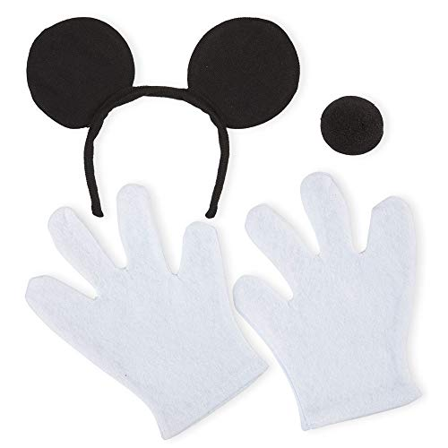 Widmann 5460T Set Maus, Unisex- Erwachsene, mehrfarbig, Taglia Unica (Verspielte Maus Kostüm)