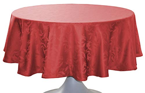 CALITEX NAPPE DAMASSEE OMBRA ROUGE Ovale 180x240