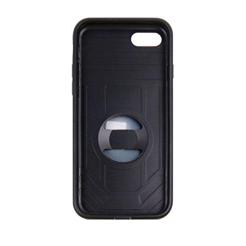iPhone Case Cover Pour iPhone 7 Champion de boxe Gold Belt résistant aux chocs TPU + PC combinaison cas avec slot pour carte ( Color : Gold ) Dark blue