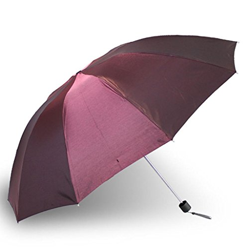 DUFEI Doppelschicht Vinyl UV Regenschirm Weiblich Übergroß Sonnenschirm Dreifach Verfärbung Blitz Sonnenschirm, 5 (Dreifach-blitz)