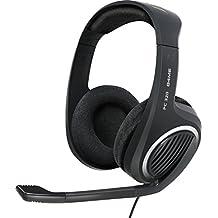 Sennheiser PC 320 G4ME - Auriculares de diadema cerrados (Con micrófono), negro