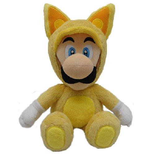 Peluche Super Mario: Luigi disfraz zorro