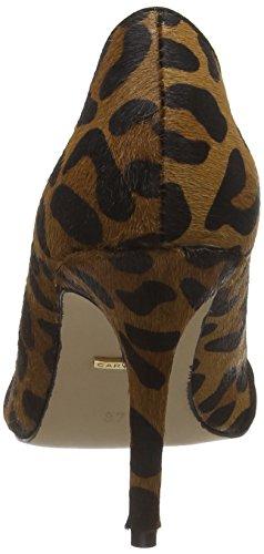 Carvela - Trim Detail, Décolleté con plateau e tacco Donna Multicolore (Multicolor (Beige Comb))