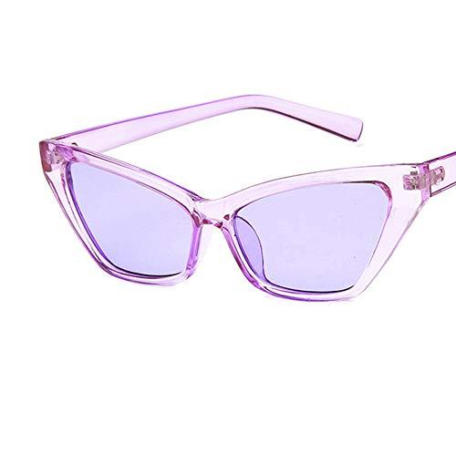 Makefortune Herren und Damen Sonnenbrille Frauen einfache Brille Cat Eye Sonnenbrillen Rahmen klare...