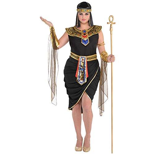Amscan Kleid bis 847818-55Kleid bis, Nicht massiv Farbe (Black History Kostüm)