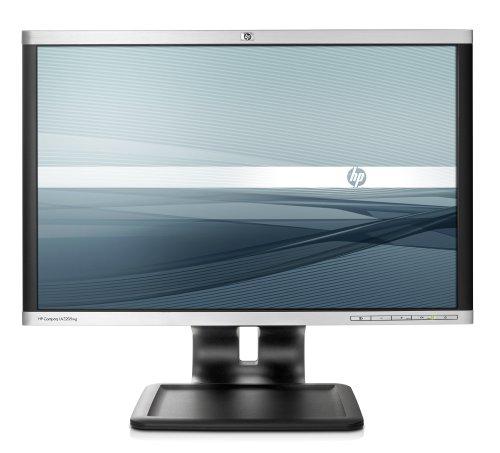 HP LA2205wg 55,9 cm (22 Zoll) Widescreen TFT Monitor (VGA,DVI, Kontrastverhältnis 1000:1, Reaktionszeit 5ms) schwarz/Silber -