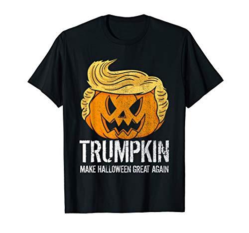 Kostüm Trumpkin Donald - Halloween Great Again Donald Trump Kürbis Trumpkin Geschenk  T-Shirt