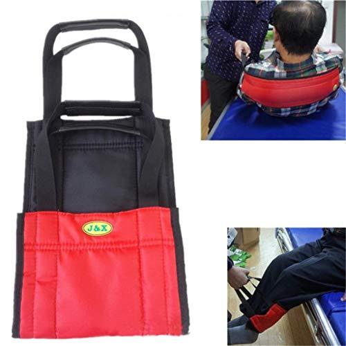 ZENGZHIJIE Transferboard Gurt Rollstuhlschieben Medizinischer Hebegurt Wender Patientenversorgung Sicherheit Mobilitätshilfen Ausstattung Pflege Ganggurt für ältere Menschen Behinderte