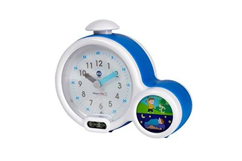 Claessens' Kids KSMFACB Kid'Sleep clock, Mein erster Wecker blau