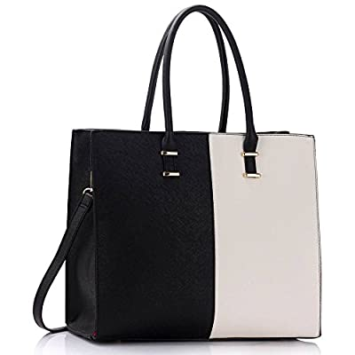 Womens Designer Bags Top Handle Shoulder Bag Ladies Faux Leather Fashion Handbags With Gold Metal Work