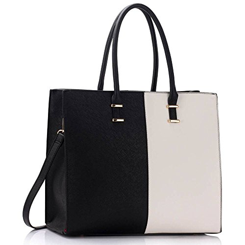 womens-handbags-ladies-designer-shoulder-bag-faux-leather-3-compartments-tote-new-celebrity-style-la
