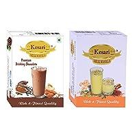 Kesari Premium Drinking Chocolate Milk Masala- 100 Gram, Milk Masala-100 Gram Combo