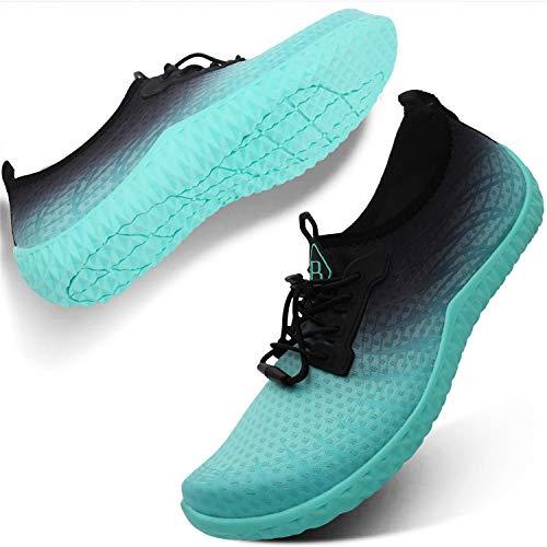 L-RUN Mens Womens Wassersportschuhe Outdoor Schnell Trocken Barefoot Aqua Athletic Schuh für Strand Schwimmen Surf Tauchen
