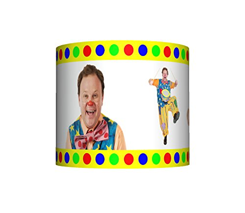 """Image of MR TUMBLE SOMETHING SPECIAL CEILING LAMPSHADE - 10"""" DRUM - BOYS / GIRLS BEDROOM LAMP SHADE"""
