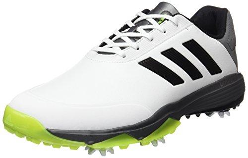 the latest 9cc11 acae3 adidas Adipower Bounce WD Golf-Schuhe für Herren 42  WeißSchwarzLimettengrün,