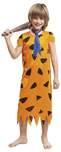 Imagen de my other me  disfraz troglodita para niño, 1 2 años, color naranja viving costumes 203252