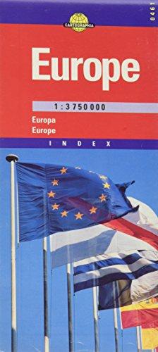 EUROPA ROAD MAP KRT (Cartographia Euro Road Maps) por CARTOGRAPHIA