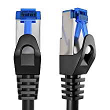 KabelDirekt - 20m Ethernet, Network, Lan & Patch Cable (transfers Gigabit internet speed & is compatible with Gigabit networks, Switches, Routers, Modems with RJ45 port, silver), 729