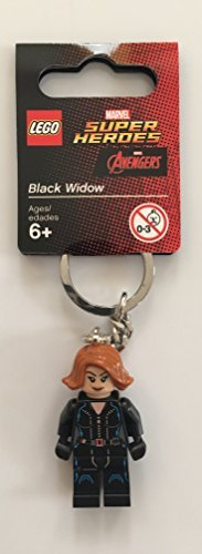Lego - Super heroes: negro widow llavero