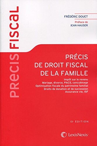 Précis de droit fiscal de la famille