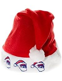 Weihnachtsmütze mit Halsband Nikolaus-Mütze Weihnachten Christmas Katzen wm-99