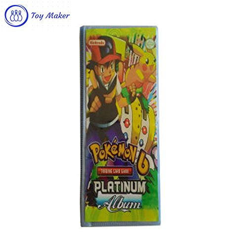 Toy Maker pokemon card Album, Collecting cards for Kids  available at amazon for Rs.350