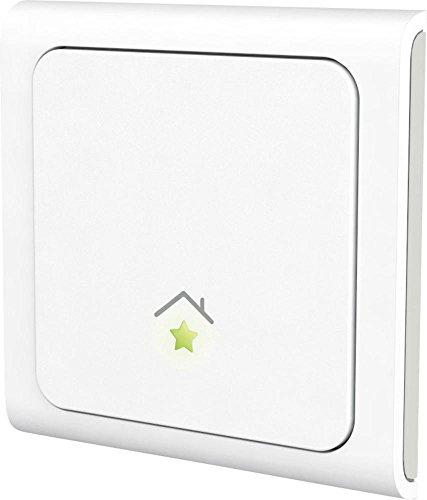 innogy SE Smart Home Wandsender / Wandschalter, App-Steuerung, mehrere Smart Home Geräte gleichzeitig steuerbar, Profile einfach einstellbar, funktioniert mit Amazon Echo/Alexa, 10267410