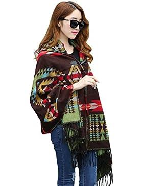 Wigwam – Poncho con capucha para