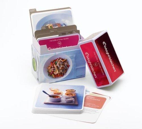 Ma boîte à fiches recettes Weight Watchers de Collectif (2010) Relié
