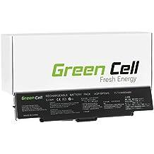 Green Cell® Standard Serie Batería para SONY VAIO VGN-NR21Z/T Ordenador (6 Celdas 4400mAh 11.1V Negro)