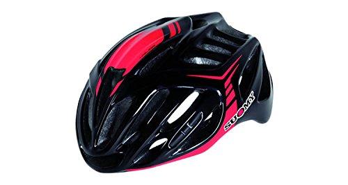 Suomy Casco bici Timeless nero / rosso taglia M (Caschi MTB e Strada) / Road helmet Timeless black / red size M ( Mtb and Road Helmet)