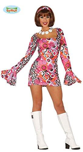 KOSTÜM - DISCO GIRL - Größe 42-44 (L) (Disco Girl Halloween Kostüm)