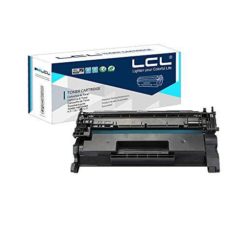 LCL Kompatibel 26A 26X CF226A CF226X9000Seiten (1-Stück Schwarz) Toner Kompatibel für HP LaserJet Pro M402n/M402d/M402dn/M402dw,MFPM426dw/M426fdn/M426fdw