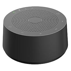 AVANTEK Einschlafhilfe WN-2C | Geräuschgenerator zur Geräuschunterdrückung durch weißes Rauschen (White Noise) und beruhigenden Umgebungsgeräuschen für einen erholsamen Schlaf
