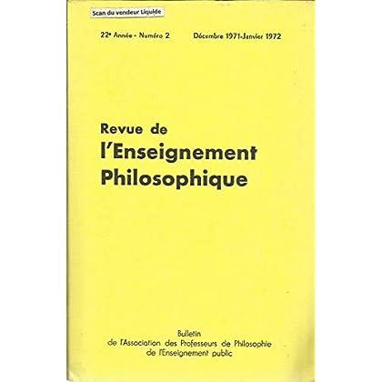 Ecole et la vie (suite), Jena Lechat - Note conjointe sur Frege (Bénézé) - Ordinateur et jeu d'échecs (R.Lhoste) , etc
